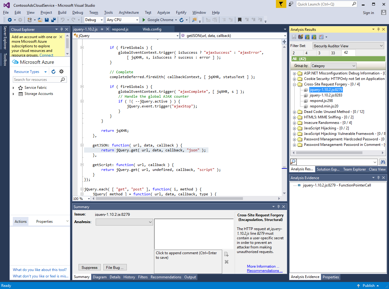 Fortify SCA Extension for Visual Studio | Fortify Marketplace